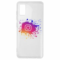 Чехол для Samsung A41 Instagram spray