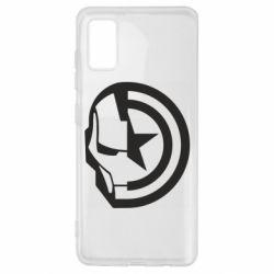Чохол для Samsung A41 Iron Man and Captain America