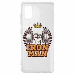 Чохол для Samsung A41 Iron man and sports