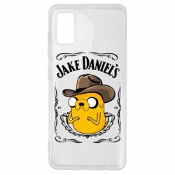 Чохол для Samsung A41 Jack Daniels Adventure Time