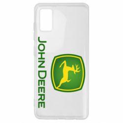 Чохол для Samsung A41 John Deere logo
