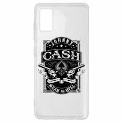 Чохол для Samsung A41 Johnny cash mean as hell