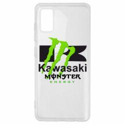 Чохол для Samsung A41 Kawasaki Monster Energy