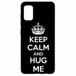 Чохол для Samsung A41 KEEP CALM and HUG ME