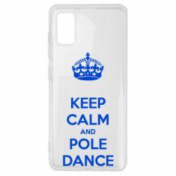 Чехол для Samsung A41 KEEP CALM and pole dance