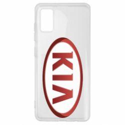 Чохол для Samsung A41 KIA 3D Logo