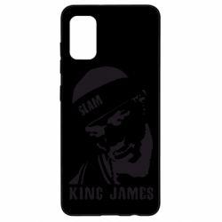 Чехол для Samsung A41 King James
