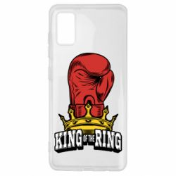 Чохол для Samsung A41 king of the Ring