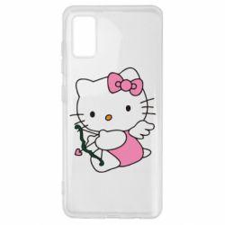 Чохол для Samsung A41 Kitty амурчик
