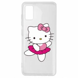 Чехол для Samsung A41 Kitty балярина