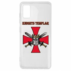 Чохол для Samsung A41 Knights templar helmet and swords