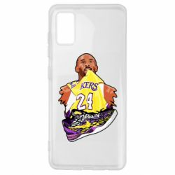 Чехол для Samsung A41 Kobe Bryant and sneakers