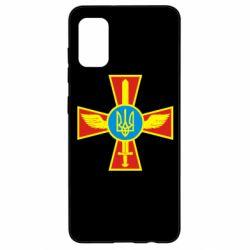 Чохол для Samsung A41 Хрест з мечем та гербом