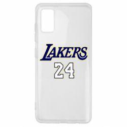 Чехол для Samsung A41 Lakers 24