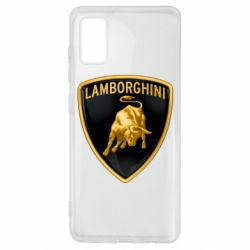 Чохол для Samsung A41 Lamborghini Logo