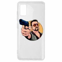 Чохол для Samsung A41 Лебовськи з пістолетом