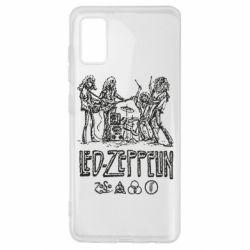 Чехол для Samsung A41 Led-Zeppelin Art
