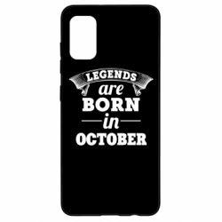 Чехол для Samsung A41 Legends are born in October