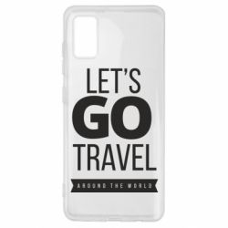 Чохол для Samsung A41 Let's go travel around the world