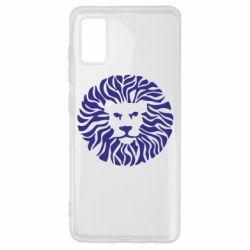 Чехол для Samsung A41 лев