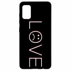 Чохол для Samsung A41 lil peep: love