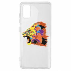 Чехол для Samsung A41 Lion multicolor