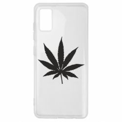 Чохол для Samsung A41 Листочок марихуани