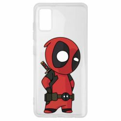 Чохол для Samsung A41 Little Deadpool