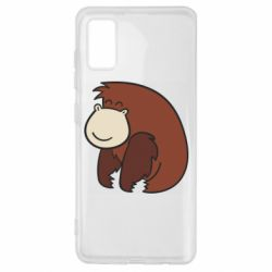 Чехол для Samsung A41 Little monkey