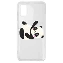 Чехол для Samsung A41 Little panda