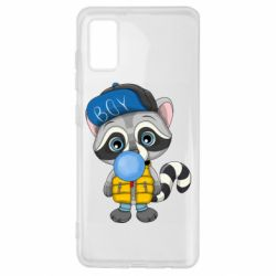 Чехол для Samsung A41 Little raccoon