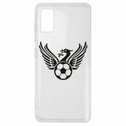 Чохол для Samsung A41 Liverpool and soccer ball
