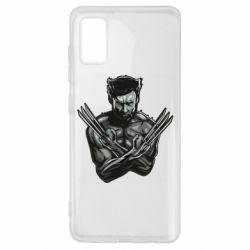 Чехол для Samsung A41 Logan Wolverine vector