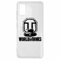 Чехол для Samsung A41 Логотип World Of Tanks