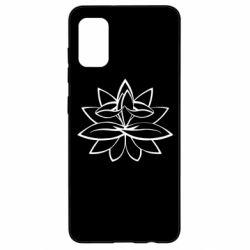 Чохол для Samsung A41 Lotus yoga