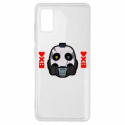 Чехол для Samsung A41 Love death and robots