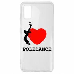 Чохол для Samsung A41 Love Pole Dance