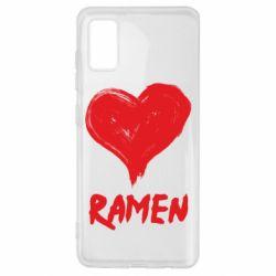 Чохол для Samsung A41 Love ramen