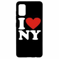 Чохол для Samsung A41 Люблю Нью Йорк