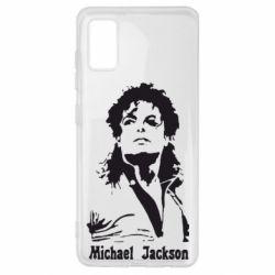 Чохол для Samsung A41 Майкл Джексон