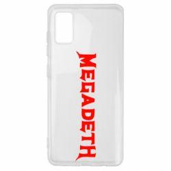 Чехол для Samsung A41 Megadeth