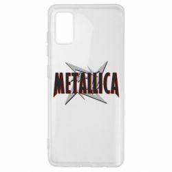 Чохол для Samsung A41 Логотип Metallica