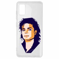 Чохол для Samsung A41 Michael Jackson Graphics Cubism