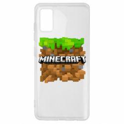 Чохол для Samsung A41 Minecraft Main Logo