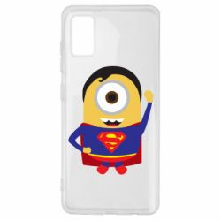 Чохол для Samsung A41 Minion Superman