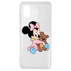 Чохол для Samsung A41 Minnie And Bear
