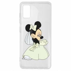 Чехол для Samsung A41 Minnie Mouse Bride
