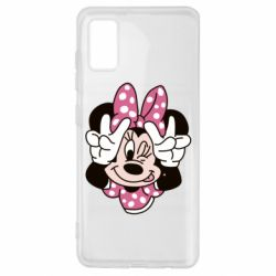 Чохол для Samsung A41 Minnie Mouse