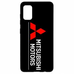Чехол для Samsung A41 Mitsubishi Motors лого