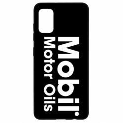 Чехол для Samsung A41 Mobil Motor Oils